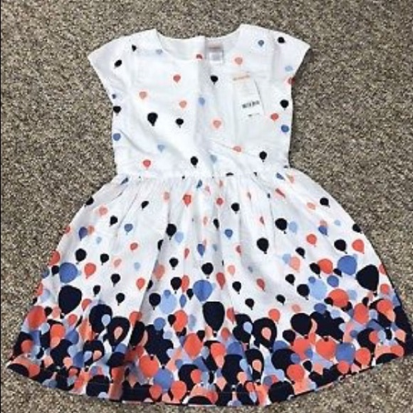 baa618bc510 🌷Gymboree Hot Air Balloon Girls  Dress NWT